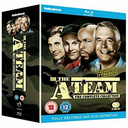 img-The A-Team - Complete [Blu-ray] [DVD][Region 2]