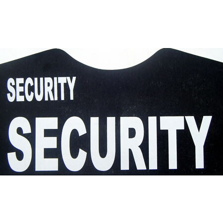 img-3 large + 3 small security iron on transfers wholesale 6 pack for T-SHIRTS etc.