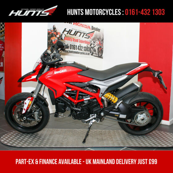 2018 '68 Ducati Hypermotard 939 ABS. 1 Owner. ONLY 225 MILES. Warranty. £9,395