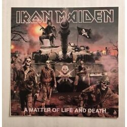 Iron Maiden Sticker - A Matter Of Life And Death