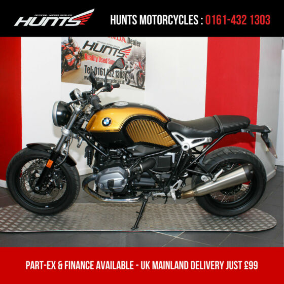 2019 '19 BMW R NINET Pure. 1 Owner. Only 1,590 Miles. BMW Warranty. £8,895