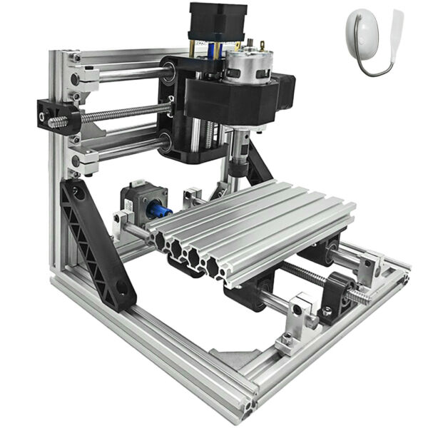 3 Axis CNC Router Kit 1610 Engraver Milling 2020 Aluminium Profiles For Wood