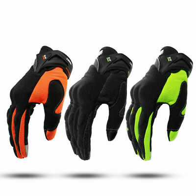 US STOCK Motorcycle Gloves Full Finger Motorbike Screen Touch Cycling Racing