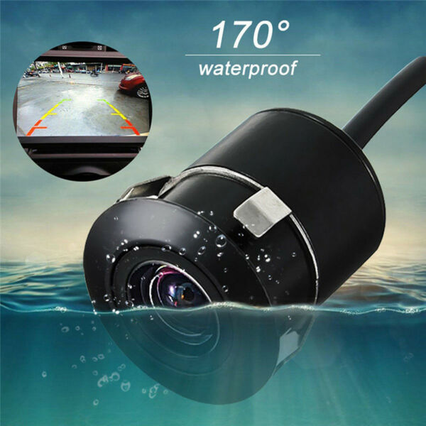 170 ° Car Rear View Camera Reverse Backup Parking Impermeabile visione nottur GR