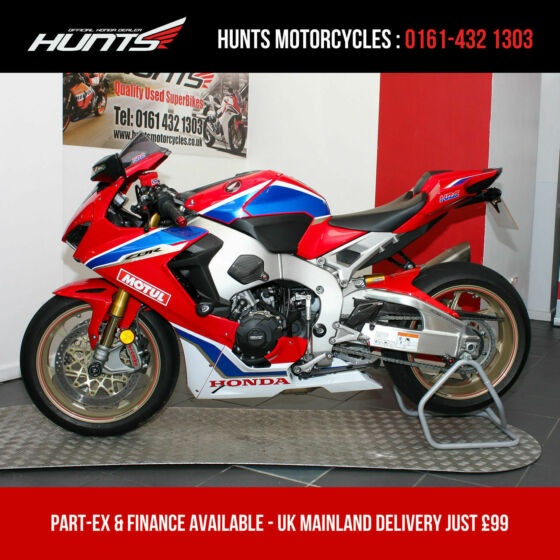 2018 Honda CBR1000RR Fireblade SP2 ABS. 538 MILES. See Description. £16,995