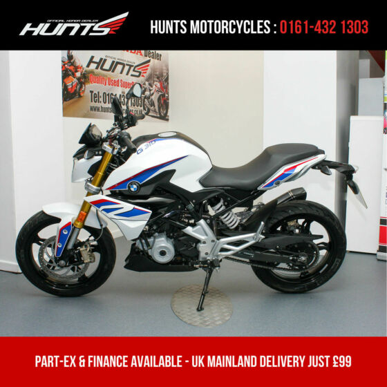 2017 '17 BMW G310R. 1 Owner. Only 1,850 Miles. Akrapovic Pipe. A2 Legal. £3,195