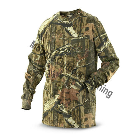 img-Camouflage Real Tree Forest Camo Long Sleeve T-Shirt Hunting Fishing Shooting
