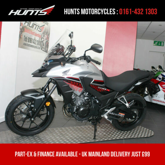 2019, '69 Honda CB500X ABS. 2 Miles Only. Balance of Warranty. A2 Legal. £5,195