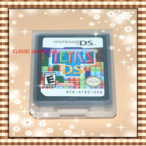 Tetris DS (Nintendo DS, 2006) Game only for DS / DSi / 3DS / 2DS XL