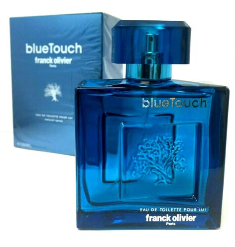 Blue Touch By Franck Olivier  3.3 oz  EDT  Men's Cologne  NIB