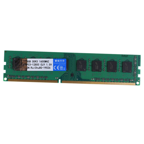 8GB DDR3 1600MHz 240pin 1.5V DIMM RAM Desktop Memoria Supporto Due CanaliW TW