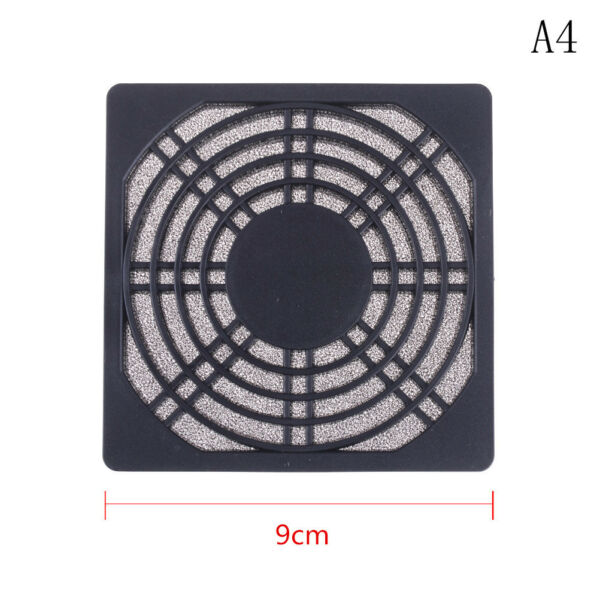 Dustproof 90mm Mesh Case Cooler Fan Dust Filter Cover Grill for PC Comput TW