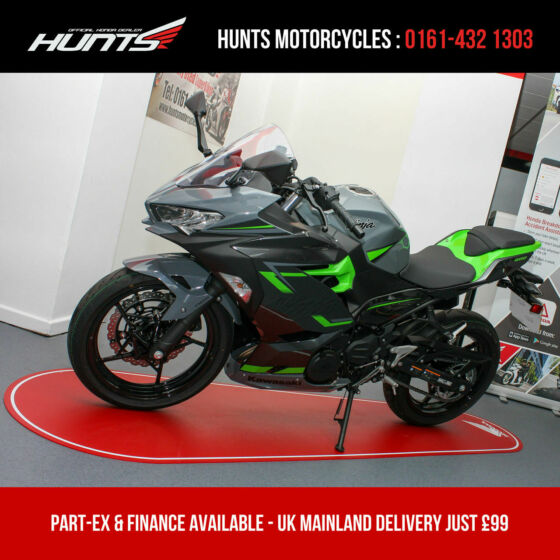 2019 '19 Kawasaki Ninja 400 ABS. 1 Owner. ONLY 122 MILES. Warranty. £4,495