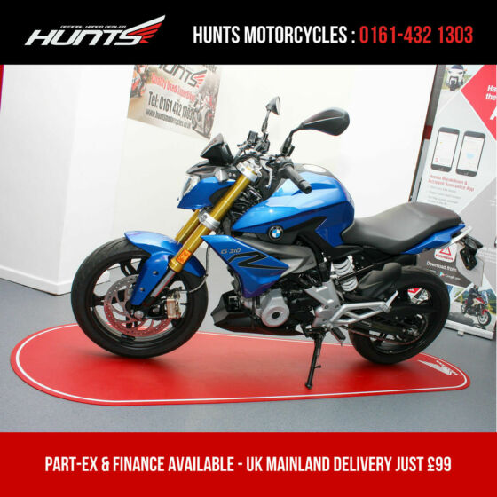2017 '67 BMW G310R. Only 5,082 MIles. Heated Grips. A2 Legal. £2,595