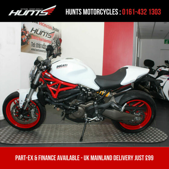 2015 '65 Ducati Monster 821 ABS. 1 Owner. Only 4,409 Miles From New. £6,195