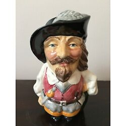ENGLISH TOBY JUG ''THE CAVALIER''with green coat