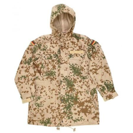 img-Bw Parka Field Jacket Desert Camouflage Tropical Size S - XXL Used