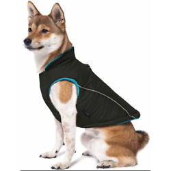 Gooby -Sports Vest, Fleece Lined Small Dog Cold Weather Jacket Coat Size X-Large