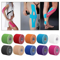Sports Kinesiology Tape Elastic Physio Muscle Tape PRO Pain Relief Multi Color