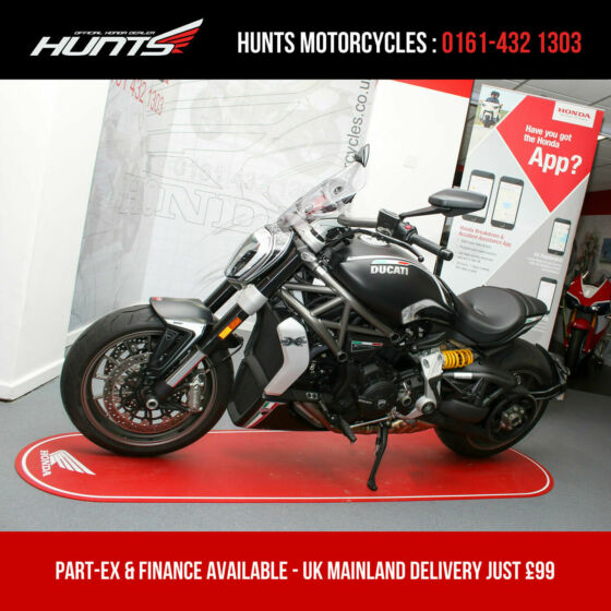 2017 '67 Ducati X Diavel. ONLY 560 MILES FROM NEW. SEE THE PICS! - £12,895