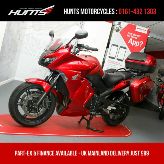 2012 '12 Honda CBF1000F GT ABS. Full Luggage, Uprated Suspension & More. £4,995