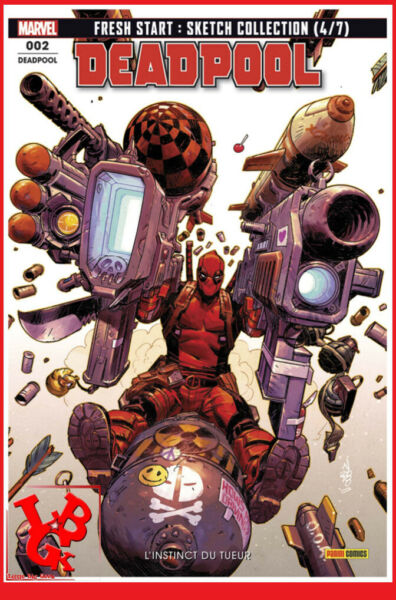 DEADPOOL FRESH START 2 02 Mars 2019 Panini Marvel Spider-Man Domino # NEUF #