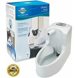 PetSafe Drinkwell Mini Pet Fountain for Cats and Small Dogs