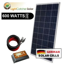 Kyпить 600W Watt System for off-grid battery charging 12-v volt (600W per day) на еВаy.соm