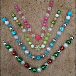 Kyпить 4x Bubblegum Necklaces New  на еВаy.соm