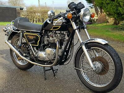 1979 TRIUMPH BONNEVILLE T140E. MATCHING NUMBERS. VERY NICE. DELIVERY AVAILABLE