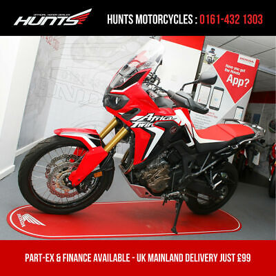 2017 '67 Honda CRF1000L Africa Twin ABS. 1 Owner. ONLY 2,440 MILES. £7,695