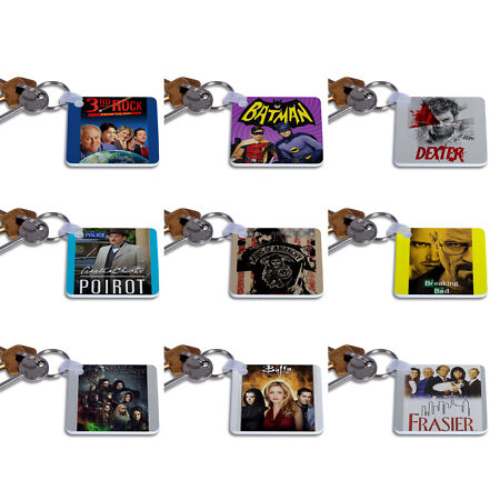 img-Greatest TV shows Keyrings - Keychain - Gift Key Chain Series