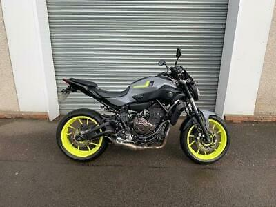 2016 YAMAHA MT07 WITH UNDER 3500 MILES FOR 4995