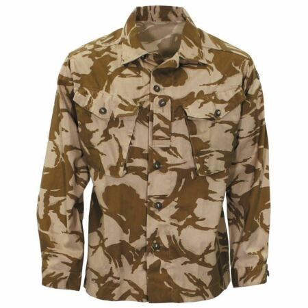 img-ORIGINAL BRITISH ARMY MILITARY COMBAT DESERT FIELD JACKET SHIRT LIGHTWEIGHT NEW