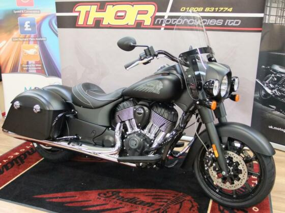 Indian 2020 SPRINGFIELD DARKHORSE BAGGER ,SIMPLY STUNNING, COME SEE THE RANGE