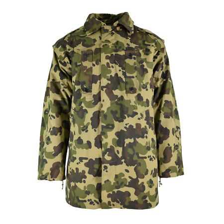 img-ORIGINAL ROMANIAN ARMY PARKA HEAVY WINTER JACKET WITH LINER FLECK CAMOUFLAGE NEW
