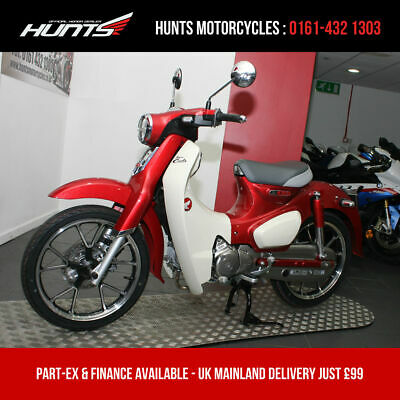 2019 '19 Honda C125 Super Cub. 2 MILES FROM NEW. Warranty. £2,899 On The Road