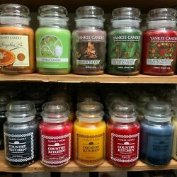 Kyпить Yankee Candle Original Classic Large Jar Single Wick Candle 19 oz or 22 oz Rare на еВаy.соm
