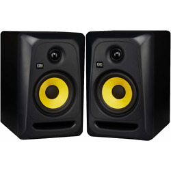 Kyпить KRK CL5G3 RP5G3 Rokit 5 5'' Powered Active Studio Monitor, Black & Yellow (PAIR) на еВаy.соm