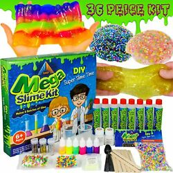 Kyпить OzBSP Mega Slime Kit. DIY Slime Making Kit for Boys & Girls. Mix 8 lots of Slime на еВаy.соm