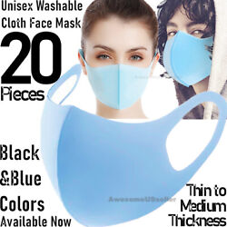 Kyпить 20Pcs Men Women Face Mask Reusable Washable Clothing Covering NEW Cover Masks  на еВаy.соm