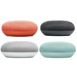 Kyпить Google Home Mini Smart Speaker with Google Assistant Charcoal Chalk Coral Aqua на еВаy.соm