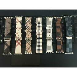 Kyпить I watch band leather  for Apple watch  6 5 4 3 2 1 44mm 42 mm 40 mm 38mm  на еВаy.соm