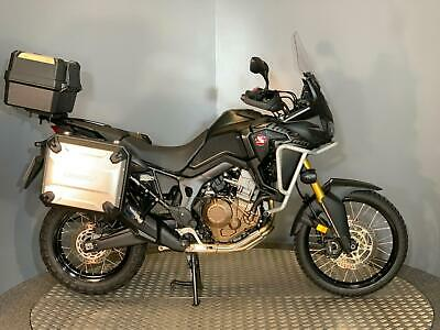 Honda CRF 1000 L Africa Twin 2017 with 9522 miles + Full Luggage / Spot Lights