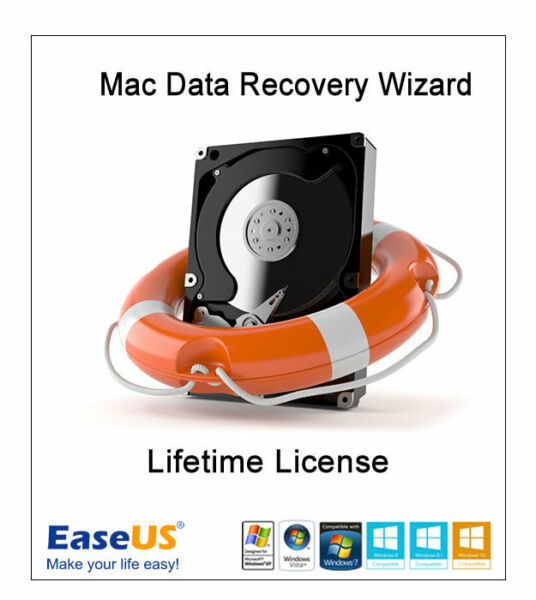 EaseUS Mac Data Recovery Wizard 12.0  - Lifetime License