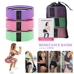 3 Pcs Resistance Bands Strength Training Fitness Gym Exercise Home Yoga Pilates