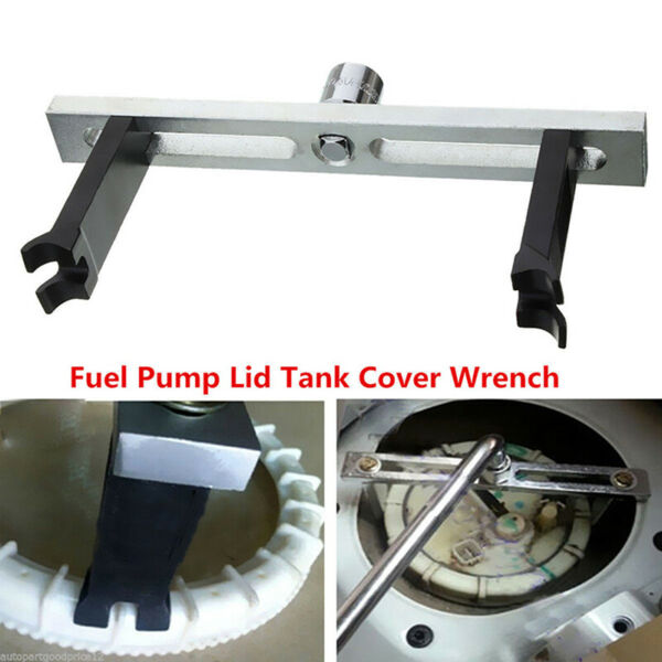 Fuel Pump Lid Tank Cover Remove Spanner Adjustable Wrench Tool For Vehical CKTP