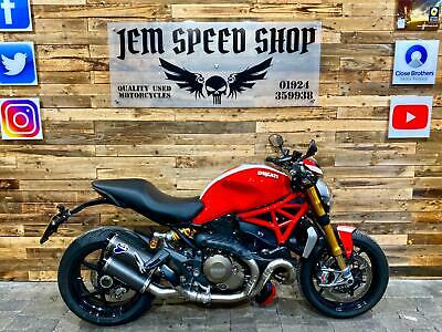 Ducati M1200 S MONSTER Stripe Edition 2016 Akropovic Ohlins