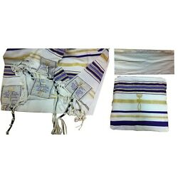 Kyпить Blue New Covenant Prayer Shawl Messianic Tallit Tallis Jewish Christian Israel на еВаy.соm