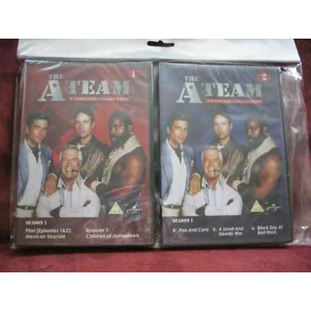 img-THE A TEAM X 3 DVD'S SEASON 1 ~ 6 EPISODES NEW IN BOXES